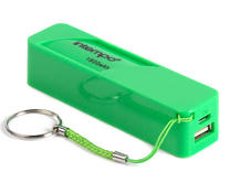 Intempo EG0246SGR Power Bank Charger, 1800mAh, Green