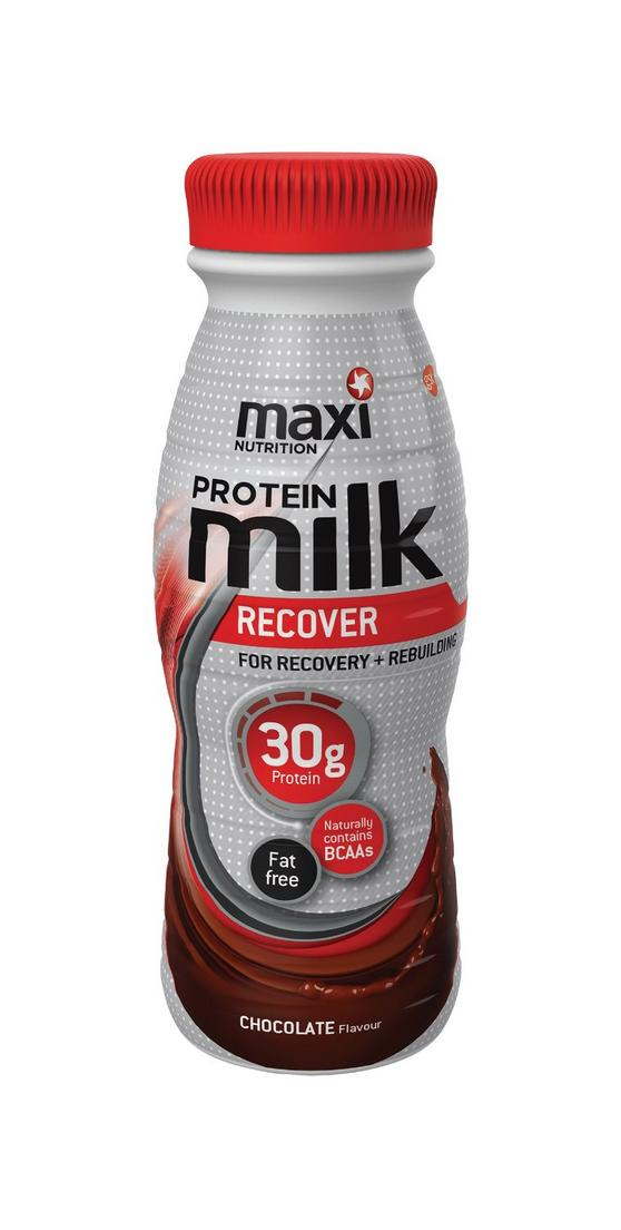 MaxiNutrition Ready To Drink Chocolate Milk Shake - 8 x 330ml Bottles