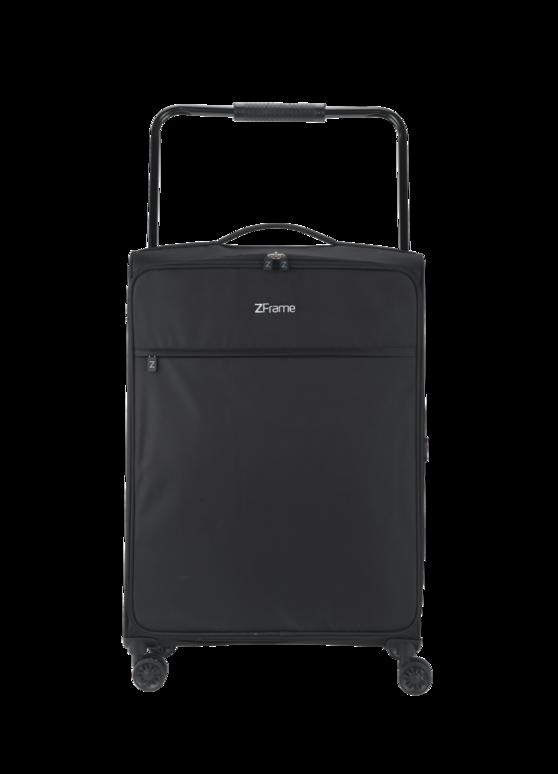 """ZFrame 8 Wheel Super Lightweight Suitcase, 26"""", Black"""