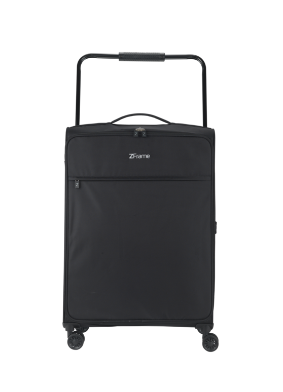 "ZFrame 8 Wheel Super Lightweight Suitcase, 26"", Black"