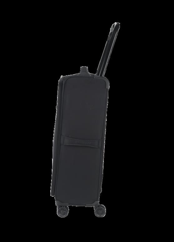"ZFrame 8 Wheel Super Lightweight Suitcase, 26"", Black Thumbnail 2"