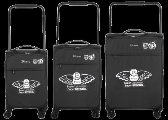 """ZFrame 26"""" Large 4 Double Wheel Suitcase, 2.99 kg, 83 Litre Thumbnail 5"""