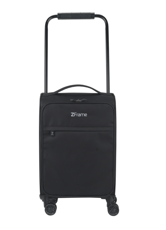 "ZFrame 8 Wheel Super Lightweight Suitcase, 18"", Black"