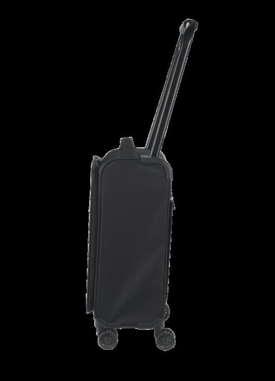 "ZFrame 8 Wheel Super Lightweight Suitcase, 18"", Black Thumbnail 2"