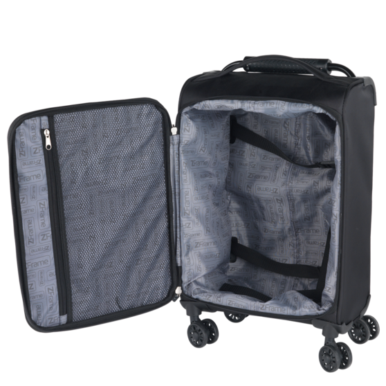 "ZFrame 18"", 22"", 26"" 4 Double Wheel Suitcase 3 Piece Set Thumbnail 3"
