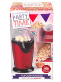 Party Time EK1524 Red Popcorn Maker Thumbnail 1