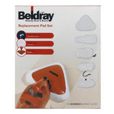 Beldray 6 Replacement Microfibre Pad Set For Beldray 10-in-1 Steam Cleaner BEL0234 Thumbnail 2