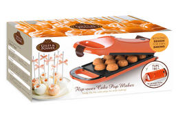 Giles & Posner Orange 180° Flip Over Cake Pop Maker with FREE Babycakes Big Book Cakepop Recipe Book Thumbnail 5