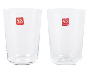 RCR Armonia Set Of 2 High Tumblers Luxion Glass 55cl 252340 Thumbnail 4