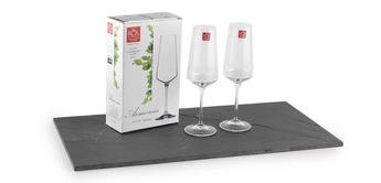 RCR Armonia Set Of 2 Champagne Glasses Luxion Glass 35cl 252320 Thumbnail 1