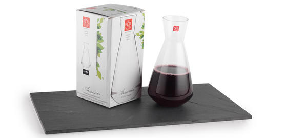 RCR Armonia Carafe Luxion Glass 180cl 514620