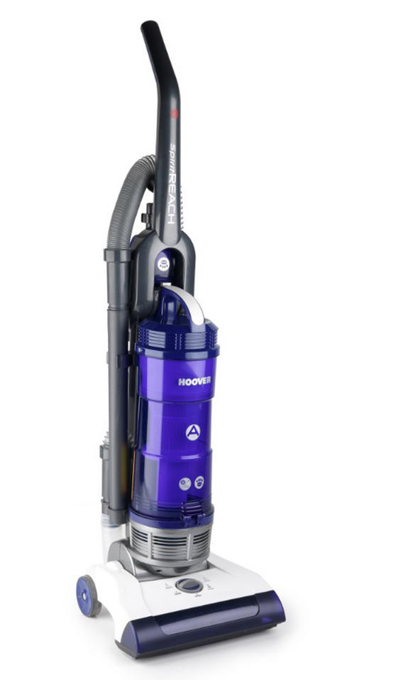 Hoover Alto Reach TP71 Upright Bagless Vacuum Cleaner - White & Purple