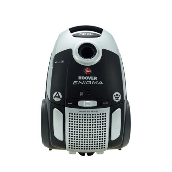 Hoover Enigma Cylinder Vacuum Cleaner, 3.2 L 700 W - Black and Silver [Energy Class A]