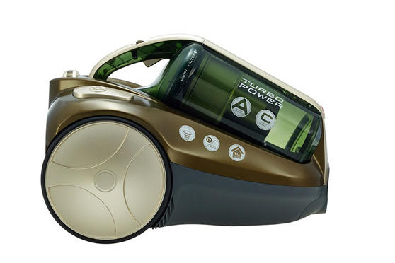 Hoover RU80TP11001 Cylinder Vacuum Cleaner In Green Champagne 39001194
