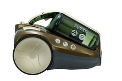 Hoover RU80TP11001 Cylinder Vacuum Cleaner In Green Champagne 39001194 Thumbnail 1