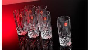 RCR Luxion Crystal Opera Hi-Ball Glasses Set Of 6 25860020006