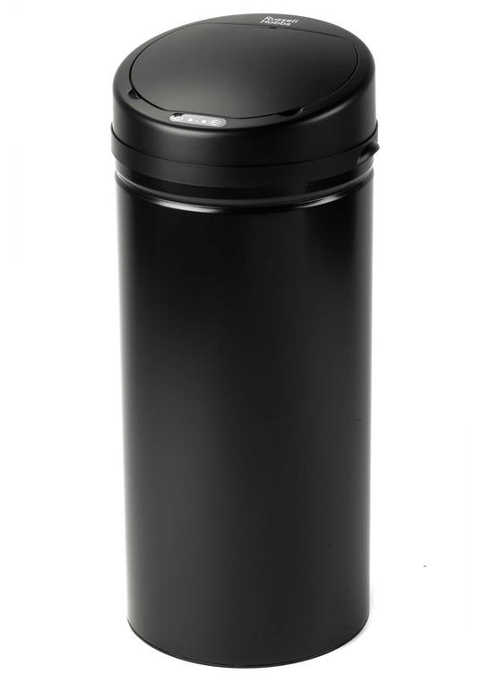 Russell Hobbs BW04512 Round Hands Free Motion Sensor Dustbin/Kitchen Bin, 30 Litre, Black