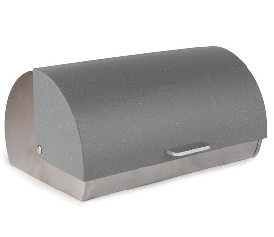 Salter Marble Collection Classic Bread Bin, Grey
