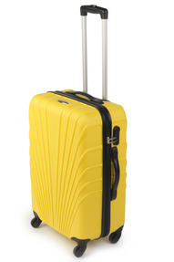 "Constellation Arc ABS Suitcase, 24"", Yellow Thumbnail 1"