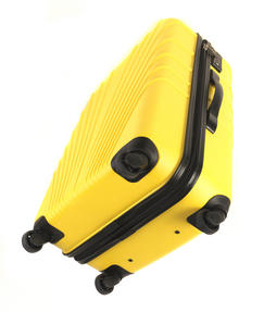 "Constellation Arc ABS Suitcase, 24"", Yellow Thumbnail 5"