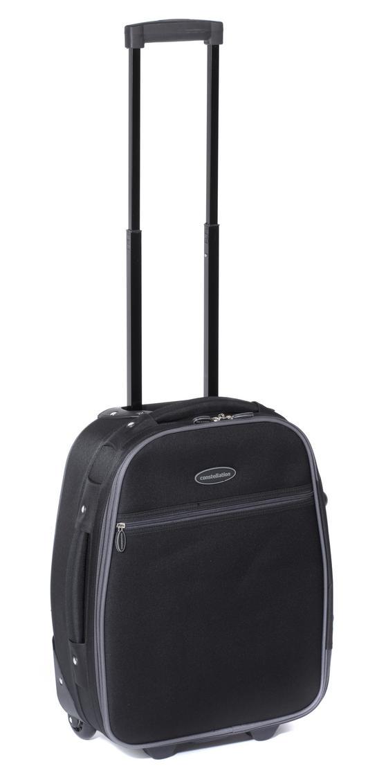 Constellation 18? Black with Silver Trim Eva Suitcase