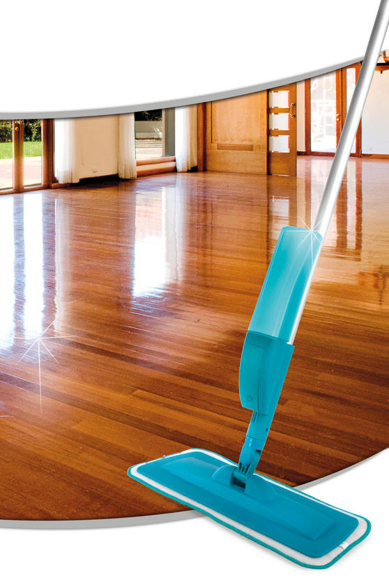 Beldray Refillable Microfibre Spray Mop, 350 ml, Turquoise Thumbnail 2