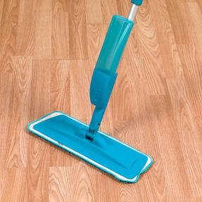 Beldray LA032133TQ Refillable Microfibre Spray Mop, 350 ml, Turquoise Thumbnail 4