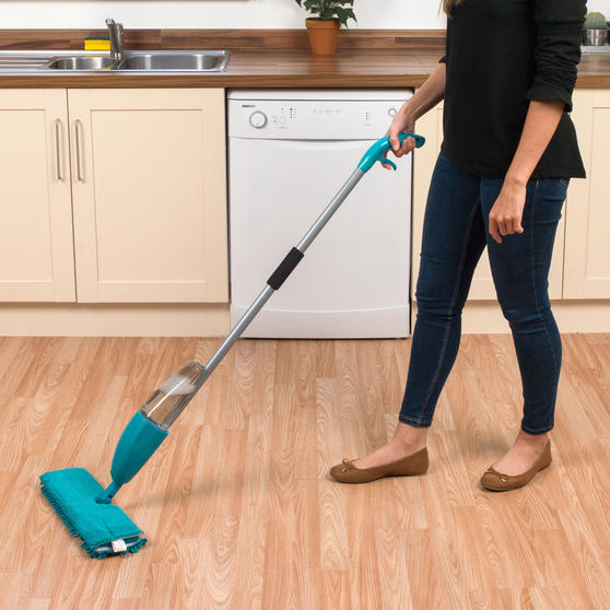 Beldray Turquoise Double Sided Spray Mop  Thumbnail 2