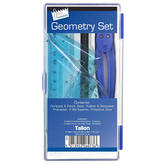 8 Piece School Geometry Maths Set Thumbnail 1
