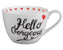 Portobello CM04645 Wilmslow Hello Gorgeous Bone China Mug Thumbnail 1