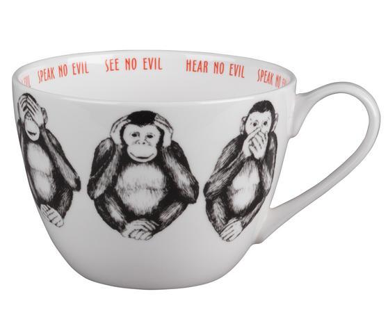 Portobello CM04804 Wilmslow Three Wise Monkeys Bone China Mug