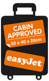 Constellation EasyJet Cabin Approved Maximum Capacity Cabin Case, Black/Grey Thumbnail 6