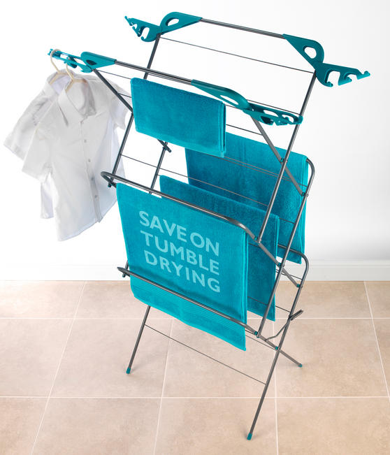 Beldray LA01455TQ Turquoise Classic 3 Tier Airer