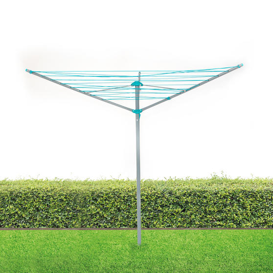 Beldray® LA027634TQ Rotary Outdoor Clothes/Garment Airer   26 Metre Drying Space Main Image 2
