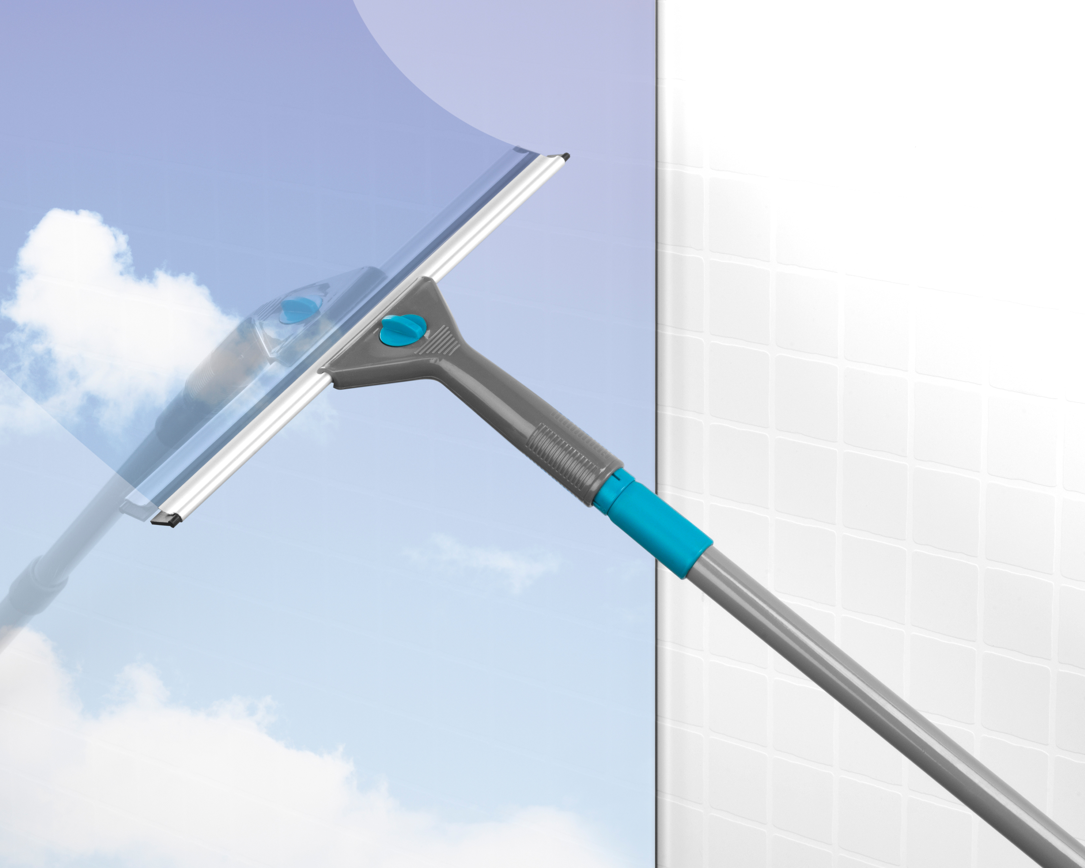 Beldray 5 Piece Large Window Cleaning Set Turquoise Beldray