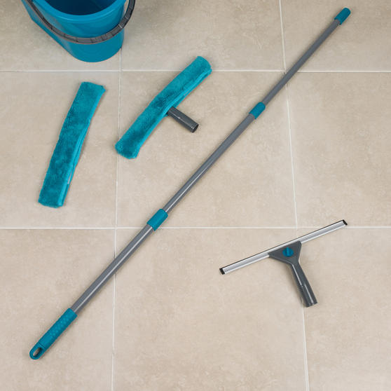 Beldray 5 Piece Large Window Cleaning Set, Turquoise Main Image 7