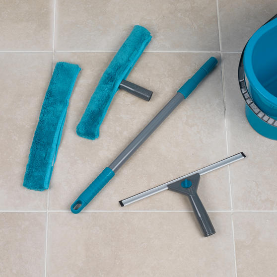 Beldray 5 Piece Large Window Cleaning Set, Turquoise Thumbnail 2