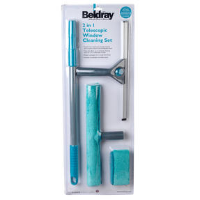 Beldray LA028693TQ 5 Piece Large Window Cleaning Set, Turquoise Thumbnail 11