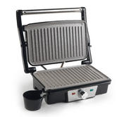 Salter Marble Collection Health and Panini Grill, Grey Thumbnail 1