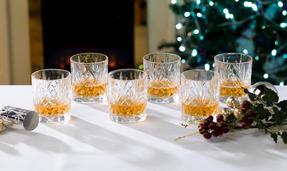 RCR 25935020006 Crystal Melodia Whiskey Glasses Set of 6 Thumbnail 1