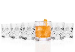 RCR 25935020006 Crystal Melodia Whiskey Glasses Set of 6 Thumbnail 6