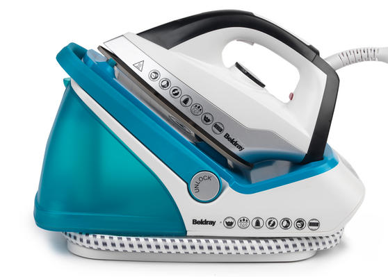 Beldray 2700W Turquoise Digital Steam Surge Pro