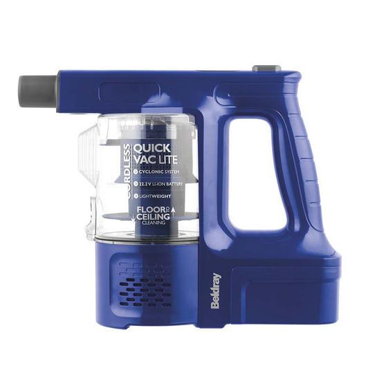 Beldray 22.2 V Cordless Quick Vac Lite, Blue Thumbnail 3