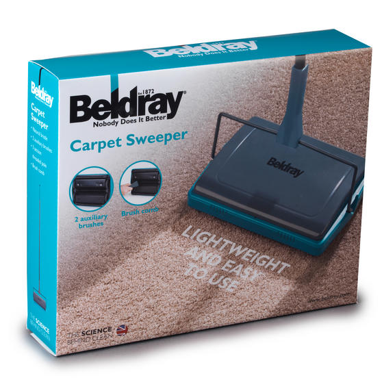 Beldray Carpet Sweeper, Turquoise Thumbnail 5