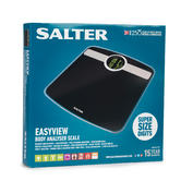 Salter 9172BK3R Black EasyView Digital Analyser Bathroom Scale Thumbnail 2