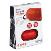 Intempo EE1302RED Red Mini Capsule Speaker Thumbnail 2