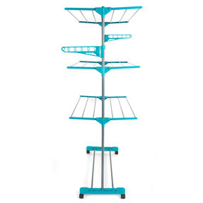 Beldray LA023773TQ Turqouise 3 Tier Deluxe Clothes Airer Thumbnail 7