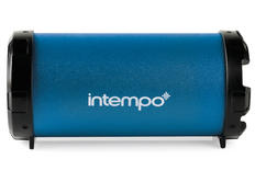 Intempo EE127NB Navy Blue Large Rechargeable Tube Speaker