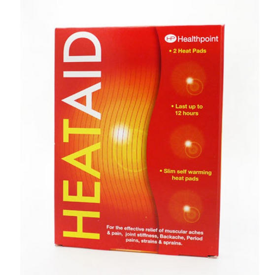Heat Aid 977142 Self Warming Heat Pad, Set of 2