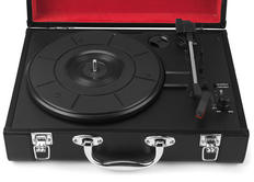 Intempo EE1161 Black Executive Valise Rechargeable Audio Turntable Thumbnail 2